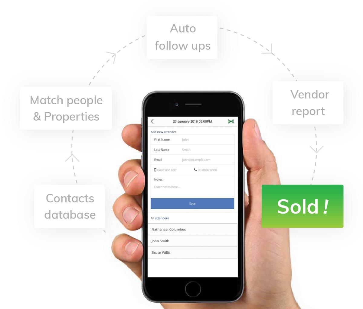 Real Estate Sales CRM Software
